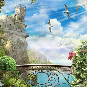 Вид на Ласточкино гнездо