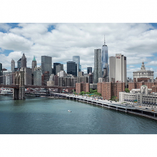 Вид на Манхэттен