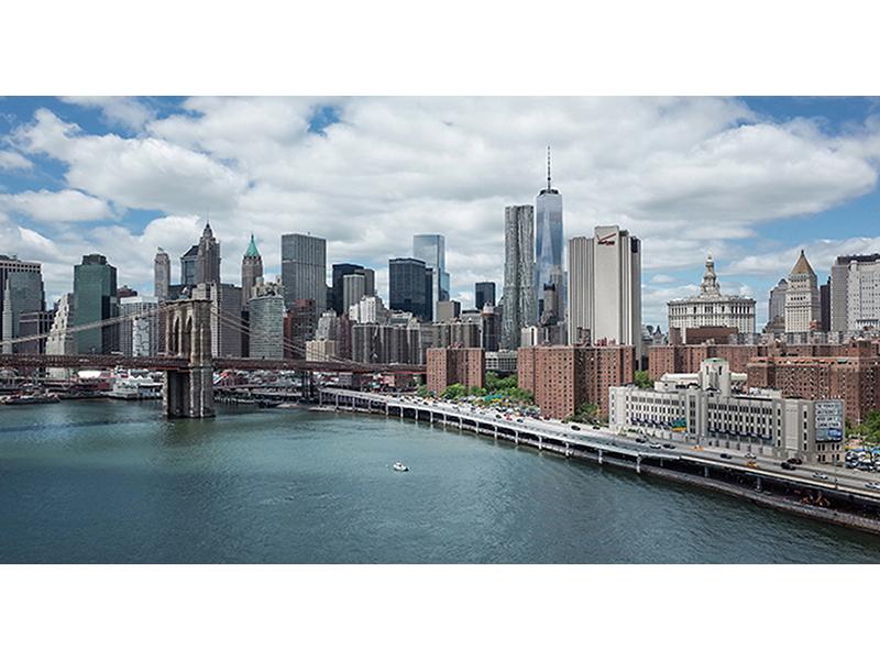 Вид на Манхэттен 1879