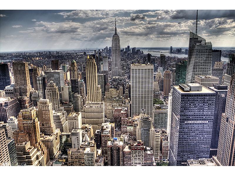 Вид на Нью-Йорк 1873