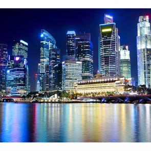 Вид на Сингапур