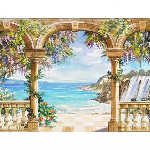 Вид с арки на море