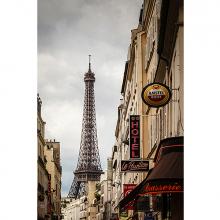 Вид в Париже