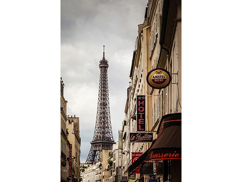 Вид в Париже 1890