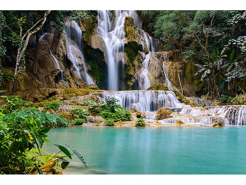 Водопад Куанг-Си 1843