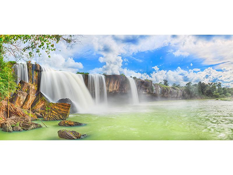 Водопад Нур 1840