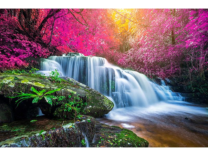 Водопад в Японии 1839