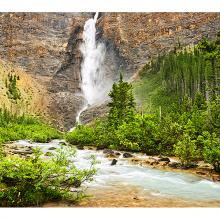 Водопад с вершины