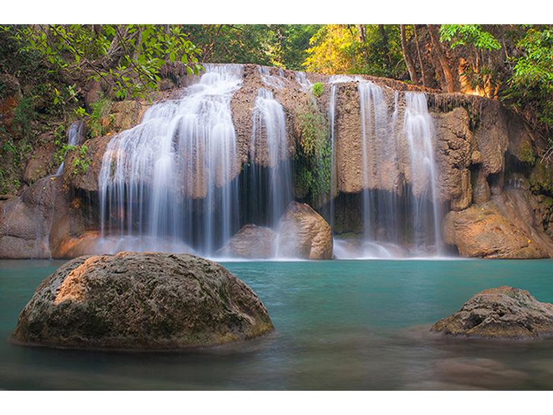 Водопад в Тайланде 1852
