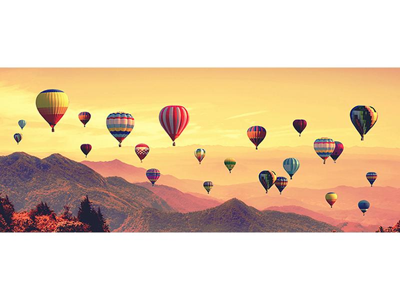 Воздушные шары на закате 1832