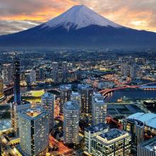 Япония на закате