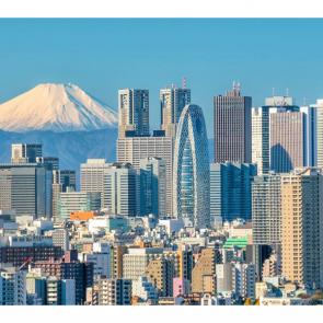 Мегаполис в Японии