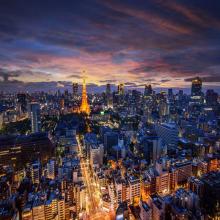Вечерняя Япония