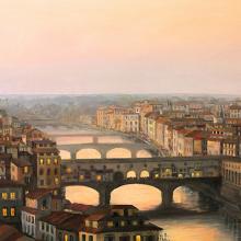 Закат над Флоренцией