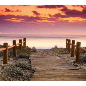 Закат в Испании