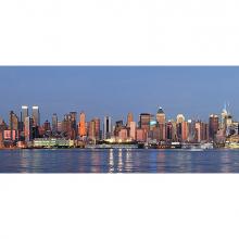 Закат в Нью-Йорке