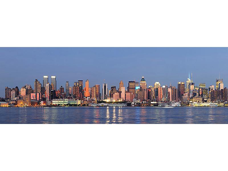 Закат в Нью-Йорке 1702