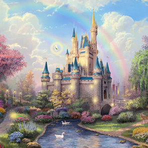 Замок детские