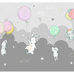 Зайцы на шарах