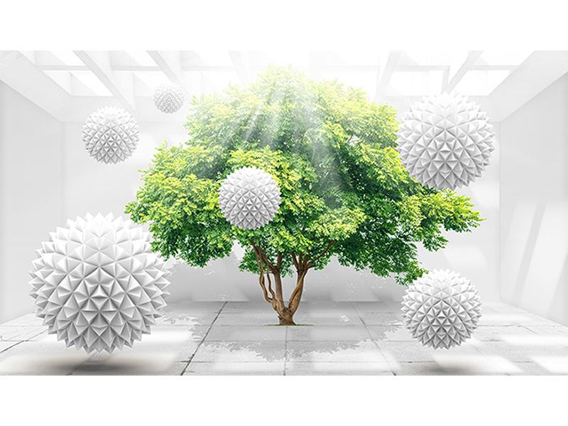 Зелёное дерево жизни 1687