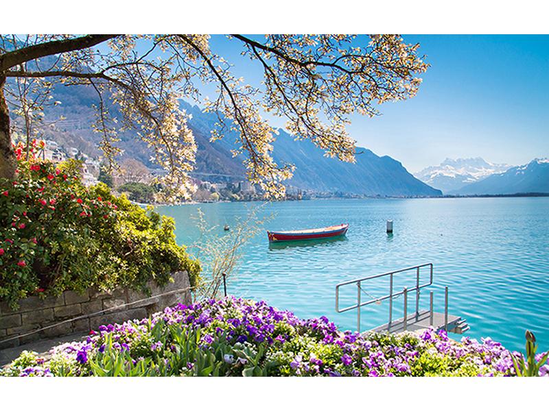 Женевское озеро  1718