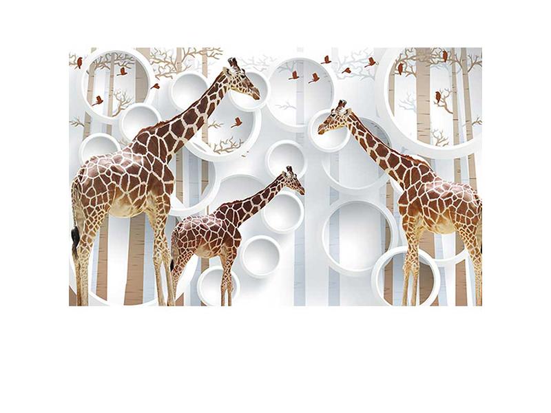 Жирафы 3д 1709