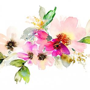 Живописные цветы 2