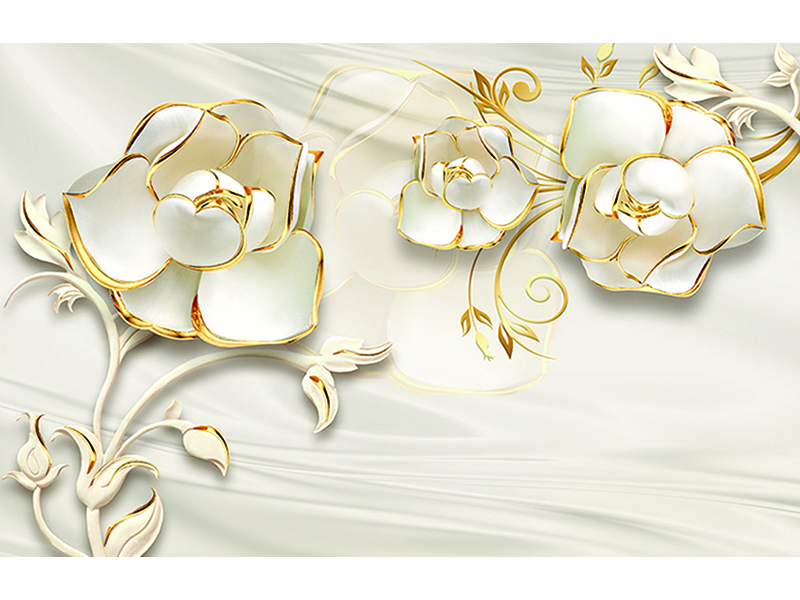 Золотой цветок 1678