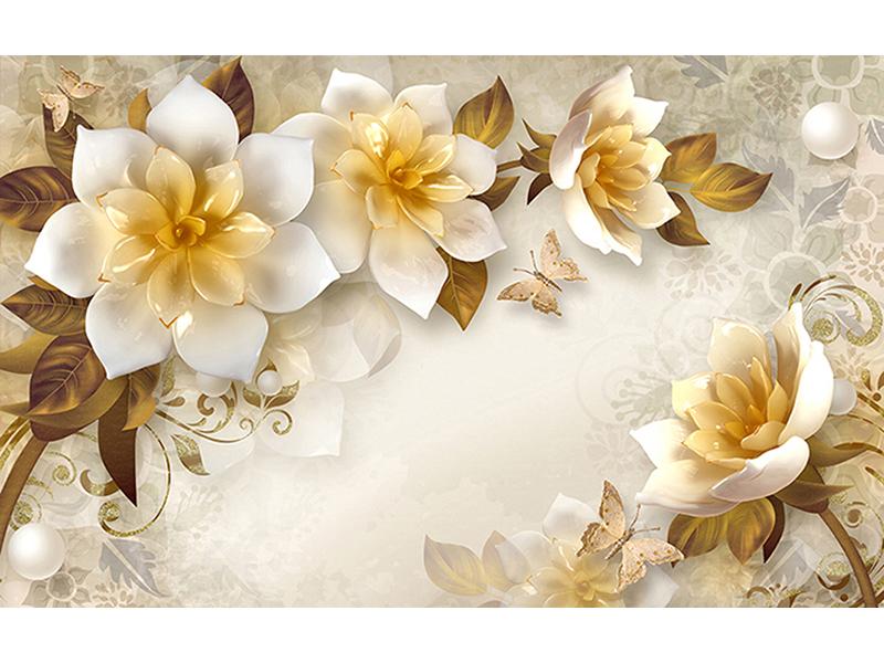 Золотые цветы 1671