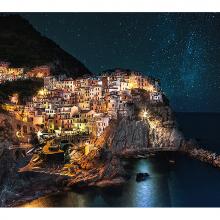 Звезды город море