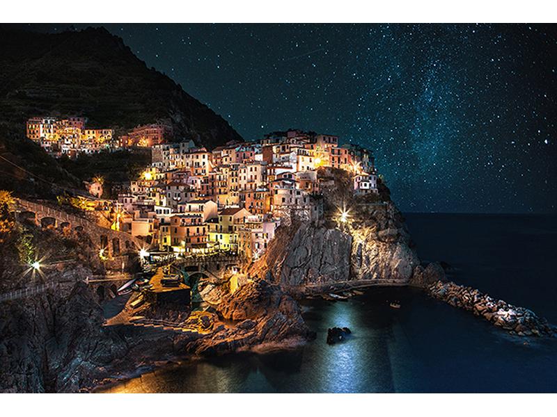 Звезды город море 1690